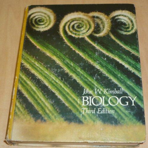 Biology (Addison-Wesley series in biology): John W. Kimball