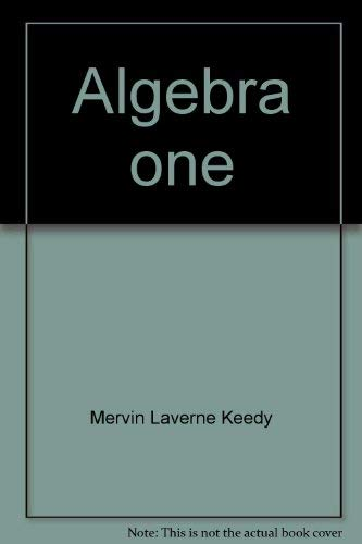 9780201038323: Algebra one