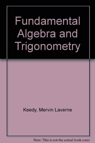 9780201038392: Fundamental Algebra and Trigonometry