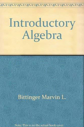 Introductory algebra: Keedy, Mervin Laverne