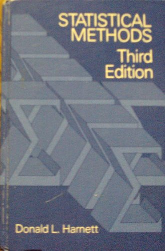 Introduction to Statistical Methods: Donald L. Harnett