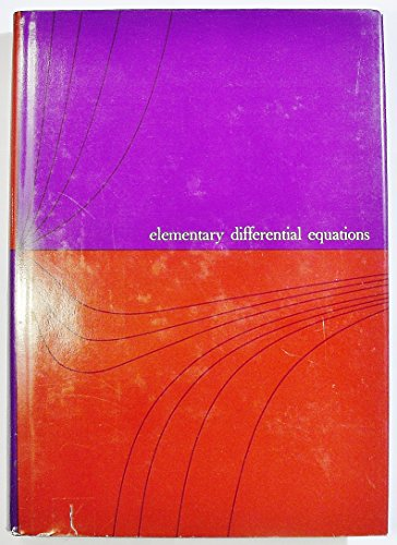 Elementary Differential Equations: Donald L. Kreider;
