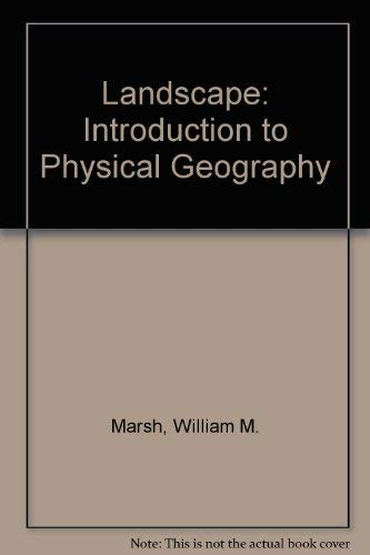 9780201041019: Landscape: An Introduction to Physical Geography