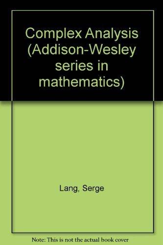 9780201041378: Complex Analysis