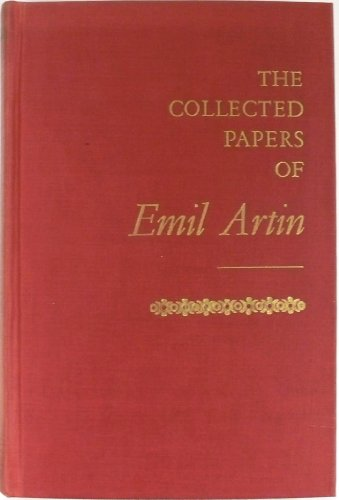 9780201041828: The Collected Papers of Emil Artin