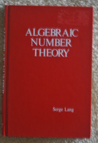 9780201042016: Algebraic Number Theory (Addison-Wesley Series in Mathematics)