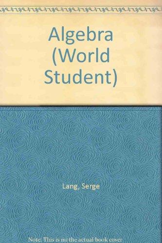 9780201042030: Algebra (World Student)