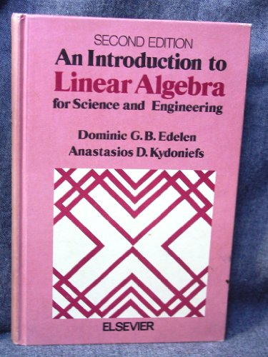 9780201042115: Linear Algebra, Second Edition [Hardcover] by