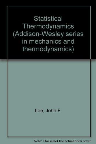 9780201042146: Statistical Thermodynamics