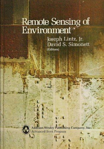 9780201042450: Remote Sensing of Environment