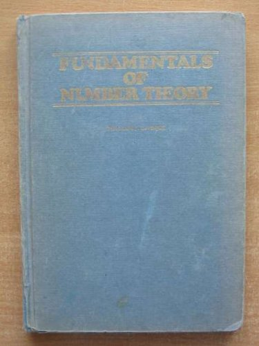 9780201042870: Fundamentals of Number Theory