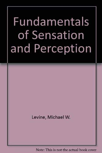 9780201043396: Fundamentals of Sensation and Perception