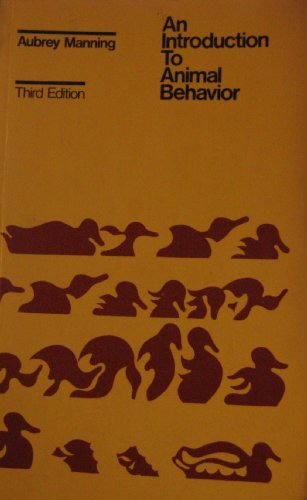 9780201044461: An Introduction to Animal Behavior (Student Texts in Contemporary Biology)