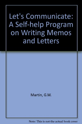 9780201045000: Let's Communicate; A Self-Help Program on Writing Memos and Letters