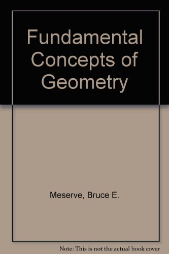 9780201047028: Fundamental Concepts of Geometry