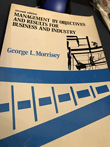 9780201049060: Management By Objectives And Results For Business And Industry