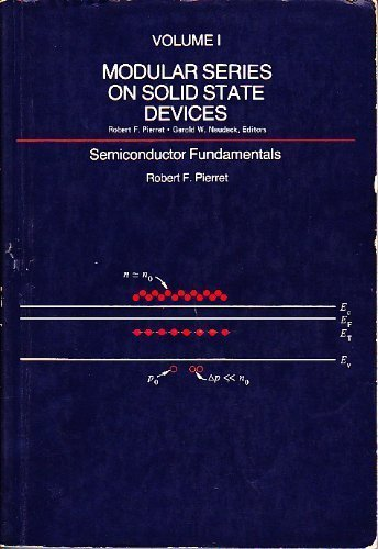 Modular Series on Solid State Devices Vol.: Gerold W. Neudeck;