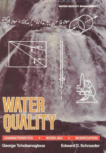 9780201054330: Water Quality: Characteristics, Modeling and Modification
