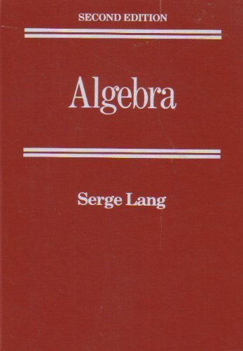 9780201054873: Algebra