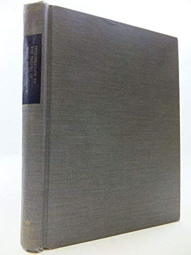 Introduction to the Theory of Solid State: Patterson, James D.