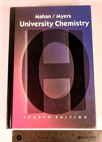 9780201058338: University Chemistry