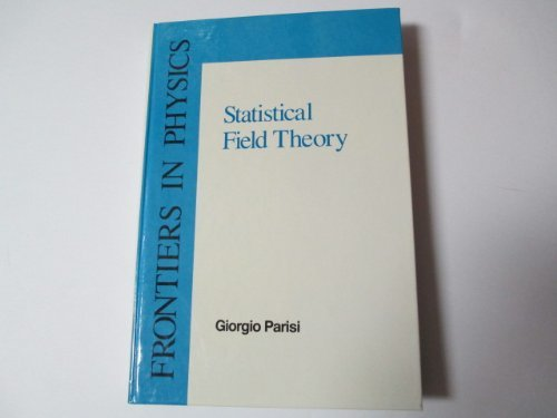 9780201059854: Statistical Field Theory
