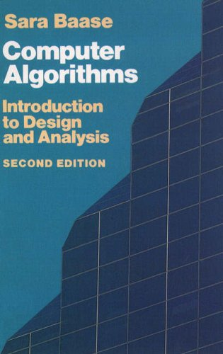 9780201060355: Computer Algorithms: Introduction to Design and Analysis (Addison-Wesley Series in Computer Science)
