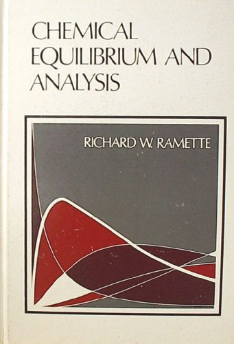 9780201061079: Chemical Equilibrium and Analysis
