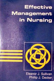 9780201062083: Effective Management in Nursing