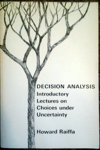 9780201062908: Decision Analysis: Introductory Lectures on Choices Under Uncertainty