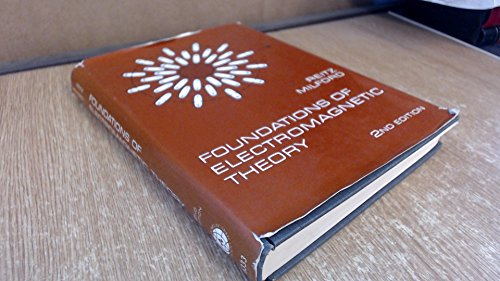 9780201063318: Foundations of Electromagnetic Theory