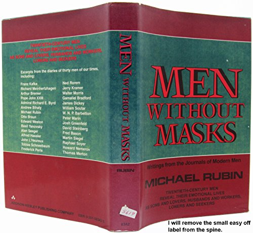 9780201063424: Men without Masks: Writings from the Journals of Modern Men