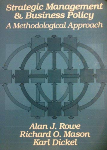 9780201063875: Strategic Management and Business Policy: A Methodological Approach