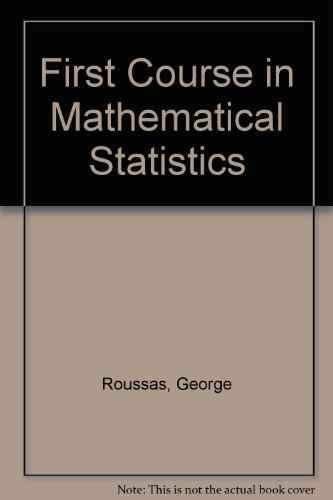 9780201065220: First Course in Mathematical Statistics