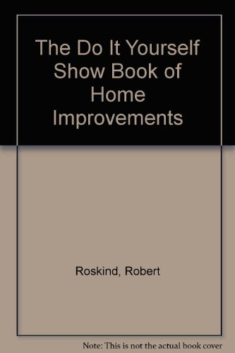 9780201065749: The Do It Yourself Show Book of Home Improvements