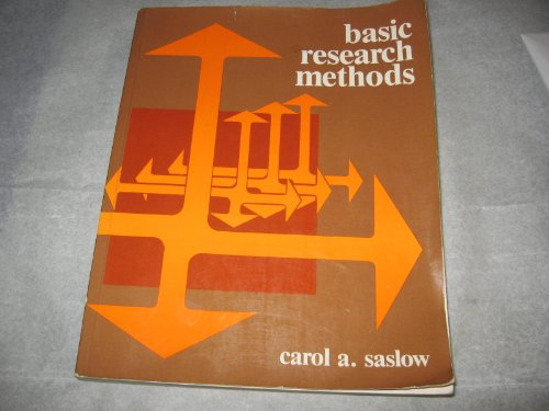 9780201066401: Basic Research Methods