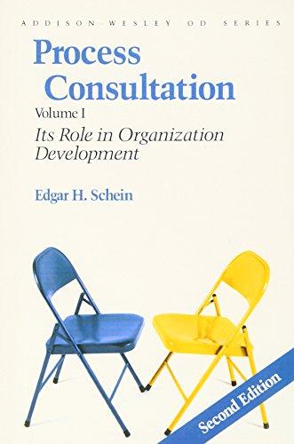 9780201067361: Process Consultation: Its Role in Organization Development: 001