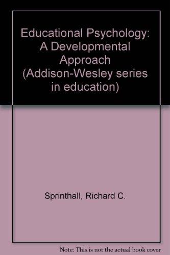 9780201068214: Educational Psychology: A Developmental Approach