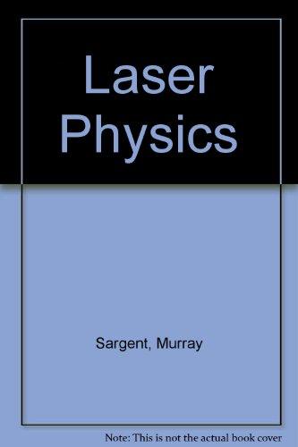 9780201069044: Laser Physics
