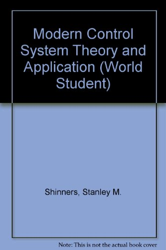 9780201070590: Modern Control System Theory and Application (World Student)