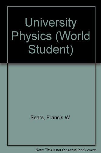 9780201071993: University Physics