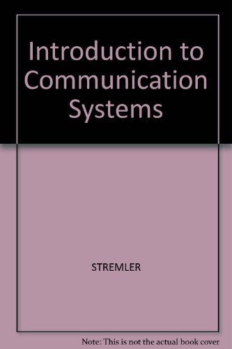 9780201072518: Introduction to Communication Systems