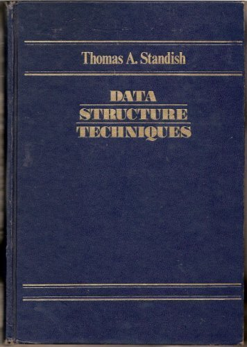 9780201072563: Data Structure Techniques (Addison-Wesley series in computer science)