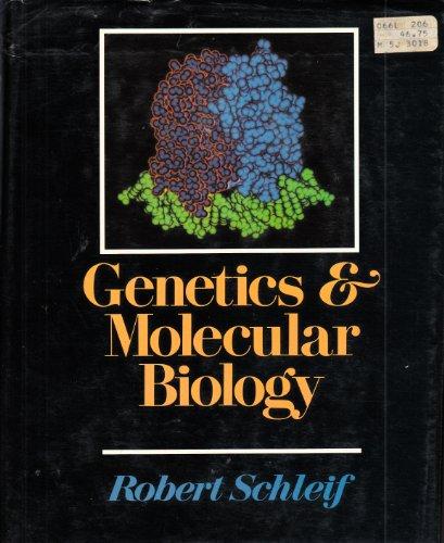 9780201074185: Genetics and Molecular Biology