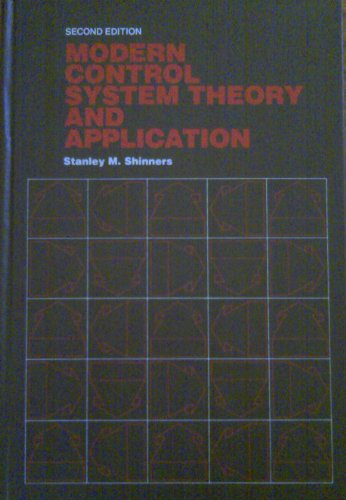9780201074949: Modern Control System Theory and Application (Addison-Wesley Series in Electrical Engineering)