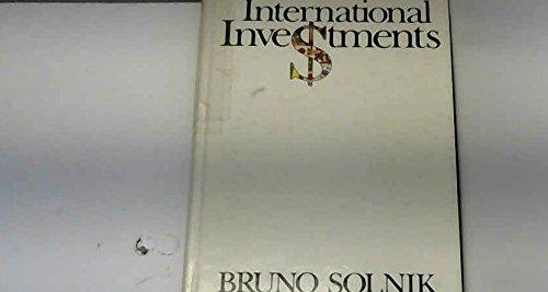 9780201075380: International Investments