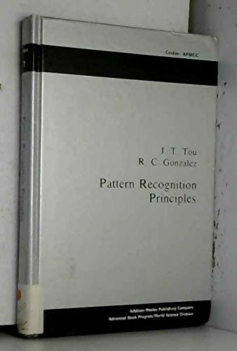 9780201075861: Pattern Recognition Principles (Applied Mathematics and Computation, No. 7)