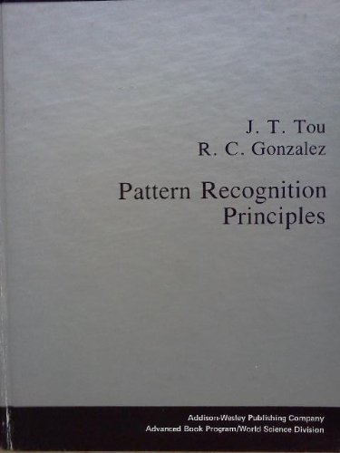 9780201075878: Pattern Recognition Principles