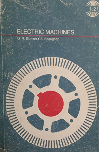 9780201077322: Electric Machines (World Student)