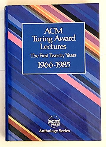 9780201077940: Turing Award Lectures (Acm Press Anthology Series)